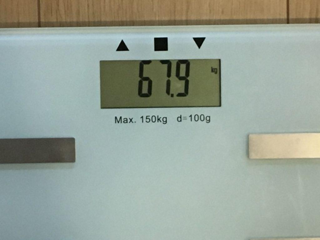 67.9kg