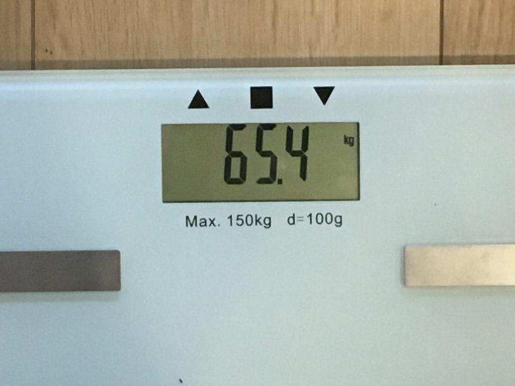 65.4kg