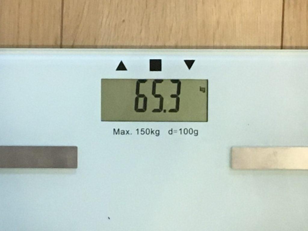 65.3kg