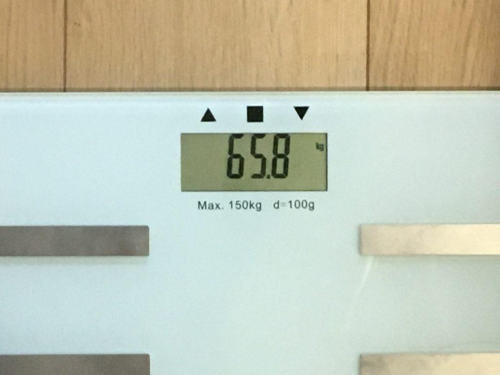 65.8kg