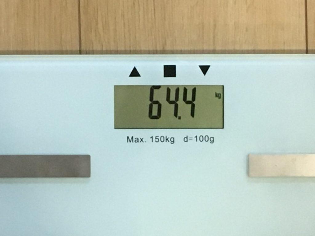 64.4kg